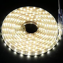 5m LED Strips Lights Warm White, 220V- 240V Ribbon