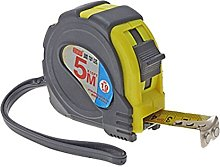 5m Long Yellow & Black Measuring Tool Steel Tape