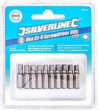 5mm Hex Cr-V Screwdriver Bit Pack (Pack of 50)