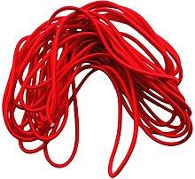 5mm Premium Marine Grade Elastic Red Bungee Rope