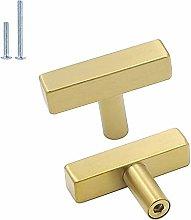 5Pack Gold Cabinet Pulls Kitchen Hardware Drawer