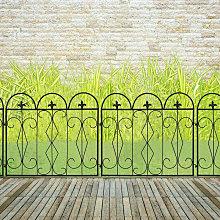 5pc Rustproof Metal Garden Fencing Panel Animal