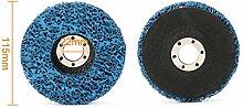 5Pcs 100mm Purple Cleaning Disc Polishing Wheel +