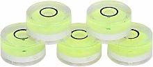5pcs 15mm Diameter Mini Round Bubble Level
