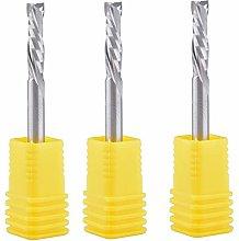 5Pcs 4x17mm up Down Cut 2 Flute Mill Tool Cutters