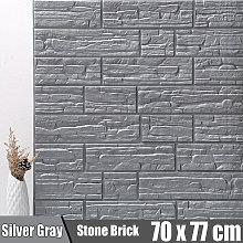 5PCS 70*77cm 3D Wall Sticker Self-adhesive DIY