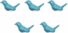 5Pcs Drawer Door Knobs Handles Cool Bird Design