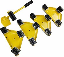 5pcs Furniture Slider Movers Heavy Power Triangle