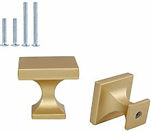 5Pcs goldenwarm Cabinet Door Knob Gold Cabinet