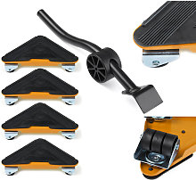 5pcs Heavy Duty Furniture Slider Lifter Movers