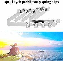 5pcs Kayak Paddle Tent Pole Push Button Spring