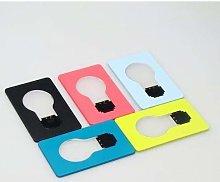 5PCS Mini led Credit Card Portable Card Pocket