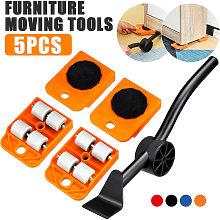 5pcs Moves Furniture Tool Transport Shift Lever