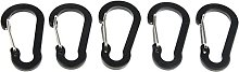 5pcs Multipurpose Key Chain Buckle Spring Snap