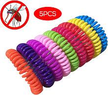 5Pcs Natural Mosquito Repellent Bracelet Pest