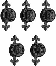 5Pcs Pulls Handles Knobs for Drawer Door Kitchen