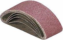 5pcs Sanding Belts 60x400mm Grit 40/60/80/120