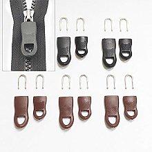 5Pcs/Set Replacement Zipper Tags Zip Fixer for