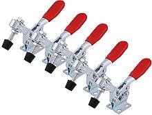 5pcs Toggle Clamps, Steel Quick Release Tool