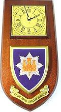 5th BN Royal Anglian Regiment Wall / Mess Clock