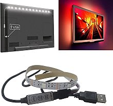 5V 5050 9SMD/30CM RGB LED Strip Light Bar TV Back