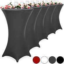 5x Fitted High Bar Cocktail Table Cloth Covers
