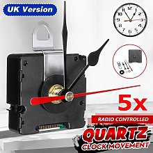5x UK MSF Time Atomic Radio Controlled Silent