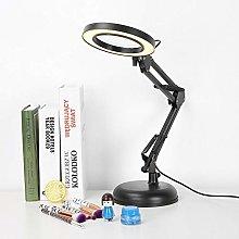 5xMagnifying Lighted Desk Magnifier Light Lamp