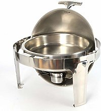 6.8 Litre Stainless Steel Round Chafing Dish Set