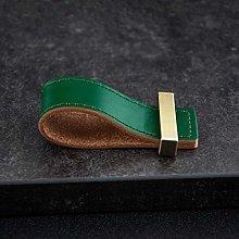 6 Colors Square Brass Accessories Genuine Leather