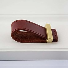 6 Colors Square Brass Accessories Genuine Leather