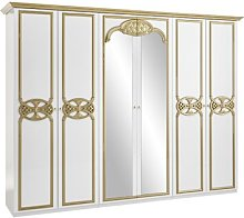 6 Door Wardrobe Willa Arlo Interiors