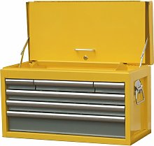 6-Drawer Tool Chest Yellow/Grey - Yamoto