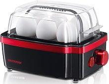 6 Egg Boiler SEVERIN Colour: Black/Metallic Red