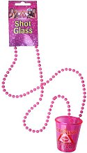 6 Hen Party Shot Glass Necklace Accessories