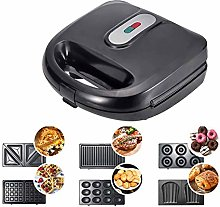 6 in 1 Sandwich and Waffle Maker, Sandwich Toaster