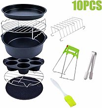 6 Inch/7 Inch Air Fryer Accessories, Set of 10,