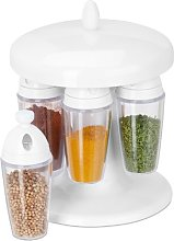 6 Jar Free Standing Spice Rack Symple Stuff