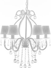 6 Light Chandelier Lily Manor
