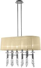 6-Light Drum Chandelier Willa Arlo Interiors