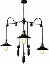 6-Light Farmhouse Chandelier 38 Inch, Rustic