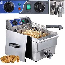 6 Litre Deep Fat Fryer for Commercial Electric