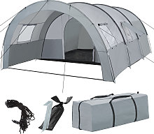 6 man tent Woodstock - light grey/dark grey