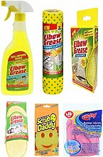 6 Pack Cleaning Bundle: 1 x Elbow Degreaser 500ml,