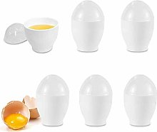 6 Pack Microwave Egg Cooker Cup Egg Poacher Egg