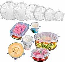 6-Pack of Various Sizes Reuseable Food Storage