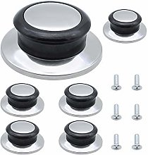 6 Pack Pot Lid Knobs Stainless Steel