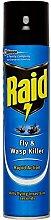 ( 6 Pack) Raid Fly & Wasp Killer Aerosol - 300ml