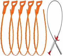 6 Pack Sewer Dredging Tools Cleaning Tool Kit for