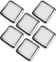 6 Pack   Square LED Mini Plinth Light & Driver Kit